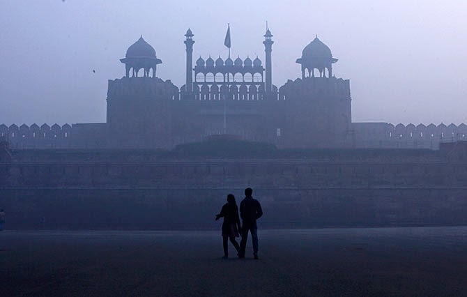 winter-red-fort